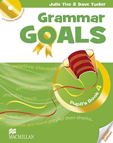 GRAMMAR GOALS 4 Pb Pack (Grammar Goals American English)