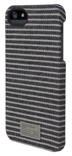 Best Price Hex Core Case For iPhone 5, Black Grey Strip, One Size