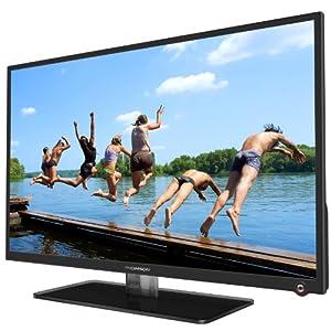 Thomson 32HU5253 81 cm (32 Zoll) LED-Backlight-Fernseher Energieeffizienzklasse B (DVB-C/-T, 3x HDMI, CI+, USB 2.0, Hotelmodus) schwarz