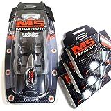 M5 Magnum 5 razor Blades with Trimmer, 12 Catridges + Razor + Travel Case