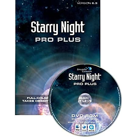 Starry Night Pro Plus 6.3 Astronomy Software