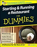 img - for Starting and Running a Restaurant For Dummies, UK Edition book / textbook / text book