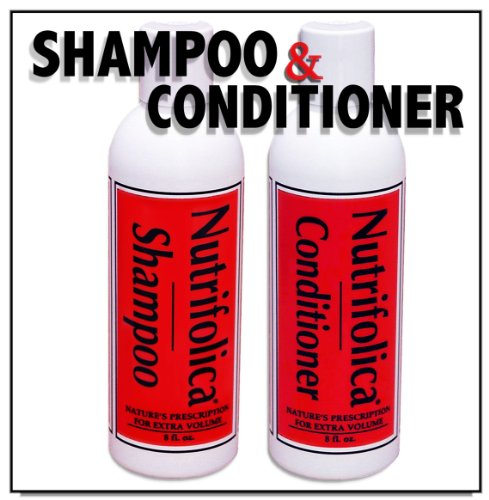 Nutrifolica Hair Loss Shampoo & Volumizing Conditioner Combo - No Sulfates