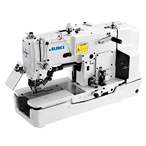Juki LBH-783 Single Needle Lockstitch Buttonholing Industrial Machine Includes Table and Clutch Motor (Table Comes Assembled)