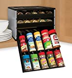 YouCopia Chefs Edition SpiceStack 30-Bottle Spice Organizer, Silver