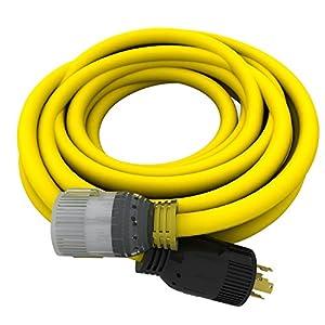 10/4, 240V, L14-30,  25 ft. Generator Extension Cord