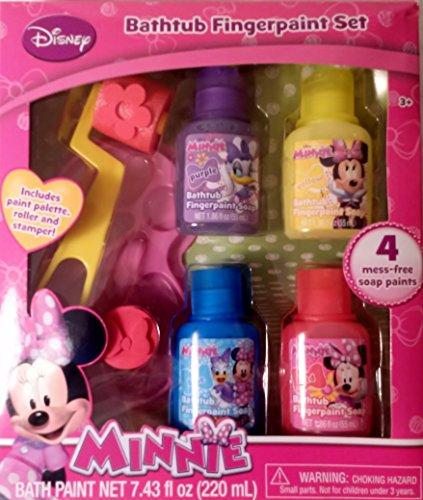 Disney Minnie Bathtub Fingerpaint Set