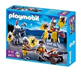 PLAYMOBIL 4871 - Lion soldiers + 4873 - Falcon Knights Troop