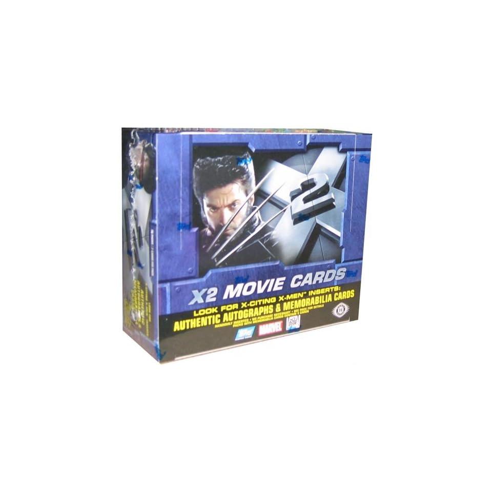 X Men X 2 The Movie Trading Cards HOBBY Box   36P