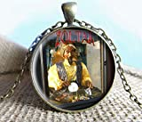 Jewelry tycoon®Zoltar the Carnival Fortune Teller Image Pendant, Jewelry, Photo Jewelry, Glass Pendant Gift, carnival, vintage jewelry
