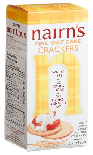 Buy Nairn's Fine Milled Oatcake Crackers, 8.8 Ounce Box (Pack of 12) (Nairn's, Health & Personal Care, Products, Food & Snacks, Snacks Cookies & Candy, Snack Food, Crackers)