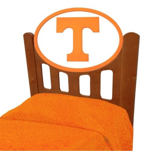 Cheap Tennessee Volunteers Vols UT Kids Wooden Twin Headboard With Logo (C0526S-Tennessee)