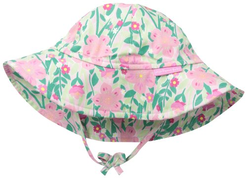 Jojo Maman Bebe Baby-Girls Newborn Floppy Hat, Tropical, 0-6 Months front-447030