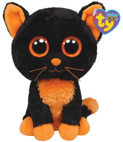 Ty Beanie Boos Moonlight - Peluche, Il gatto di Halloween