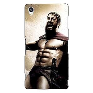 Jugaaduu King Leonidas Spartan Back Cover Case For Sony Xperia Z3