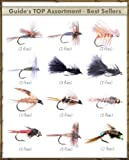 Fly Fishing Flies - Guide's TOP Assortment - BEST SELLERS (35 flies)