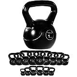 #9: MOVIT® Kettlebell Kugelhantel, 15 VARIANTEN: 1 / 2 / 3 / 4 / 5 / 6 / 8 / 10 / 12 / 14 / 16 / 18 / 20 / 22 / 24 kg, Rundgewicht Krafttraining Bodybuilding Muskelaufbau