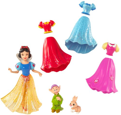 Disney Princess Snow White Favourite Moments Pocket Fashion Doll (with Accessories and Carry Bag)