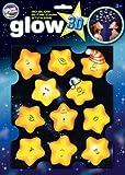 The Original Glowstars Company - Glow 3-D Stickers - Funny Stars