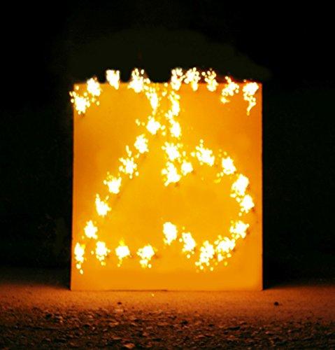 Lichterbild brennende Zahl 25 thumbnail