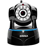 ZAVACA 1080P(1920x1080) WiFi IP Camera,Home Security Willess Network Cam with Pan/Tilt/Zoom ,Two-Way Audio,Black