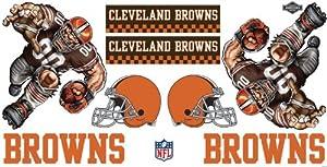Buy NFL Cleveland Browns Skinit Liquid Blue Car Decals (Medium, 49- x 25-Inch) by Skinit