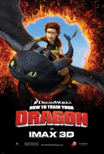 How to Train Your Dragon Poster Movie H (11 x 17 Inches - 28cm x 44cm) Jay Baruchel Gerard Butler America Ferrera Craig Ferguson Jonah Hill Christopher Mintz-Plasse