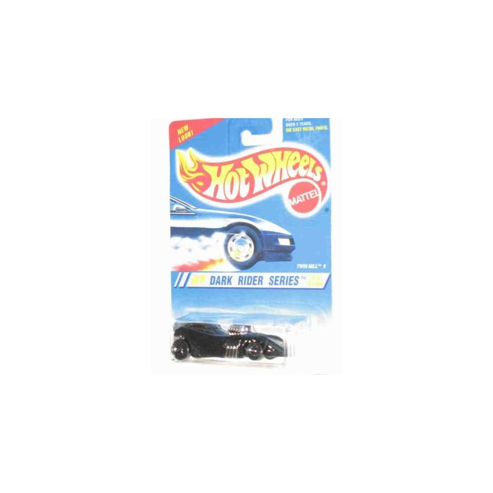 Dark Rider Series #2 Twin Mill 2 6 Spoke Wheels #298 Collectible Collector Car Mattel Hot Wheels 164 Scale