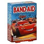 Band Aid Adhesive Bandages, Disney Pixar Cars, Assorted Sizes, 20 bandages