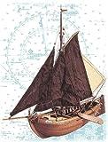 Maquette en bois - Voilier hollandais Botter...