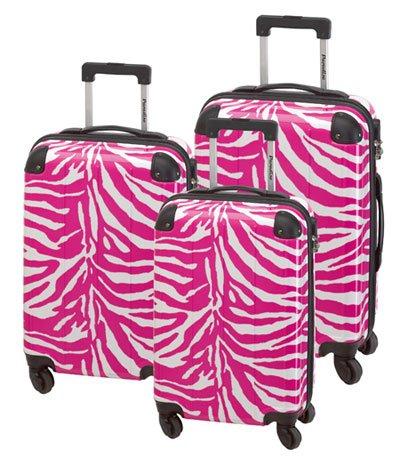 3-teiliges Trolley-Kofferset Reisekoffer Hartschale