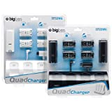 "Wii - Charging Station ""Quad Charger"" (black & white sortiert)von ""Bigben Interactive"""