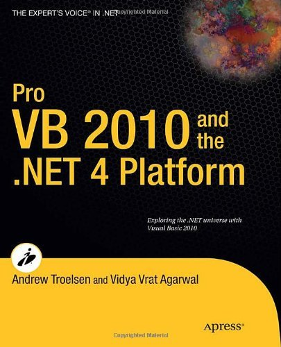 Pro VB 2010 and the .NET 4.0 Platform