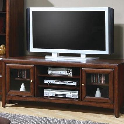 "San Leandro Media 59"" TV Stand in Walnut"