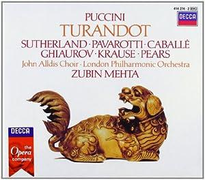 Puccini - Turandot / Sutherland · Pavarotti · Caballé · Ghiaurov · Krause · Pears · LPO · Mehta