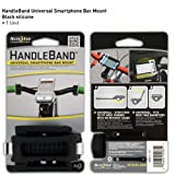 Nite Ize HandleBand Universal Smartphone Bike Handlebar Mount, Black