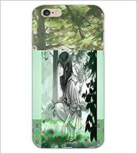 PrintDhaba Couple D-4990 Back Case Cover for APPLE IPHONE 6 PLUS (Multi-Coloured)