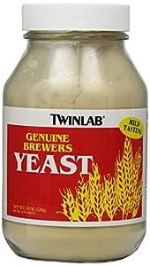 TWINLAB Brewers Yeast Powder 18 OZ