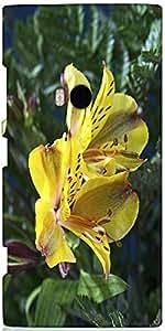 Snoogg Yellow Daisy Designer Protective Back Case Cover For Nokia Lumia 920