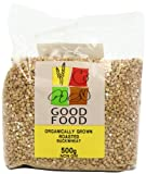 Mintons Good Food Pre-packed Organic Roasted Whole Buckwheat (Pack of 5)