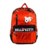 Hello Kitty Red And Black Children's Backpack (MBE-HKP044)