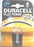 Duracell Plus Power MN1604 Battery Alkaline 9V Ref 81275361