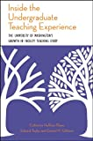 Inside the Undergraduate Teaching Experience