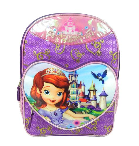 Disney Sofia The First Backpack - Princess 16""