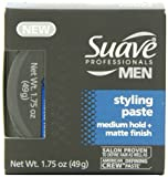 Suave Professionals, Mens Styling Paste,  1.75Ounce (Pack of 4)