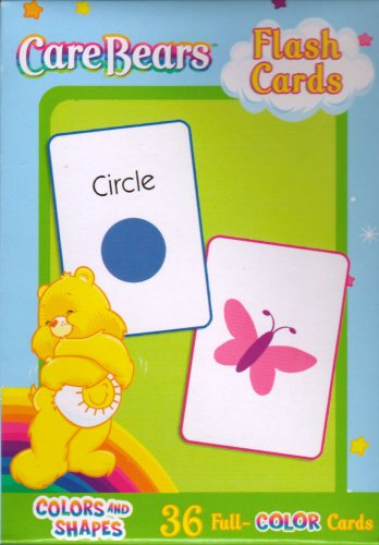 Buy Care Bears Flash Cards ~ Colors and Shapes