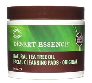 Facial Cleansing Pads - Tea Tree Oil, 50 pad ( Multi-Pack)