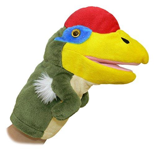 """Aurora World 10"""" Oviraptor Dinosaur Puppet"""