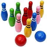 Toys of Wood Oxford Wooden Skittles Set for Children