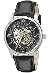Stuhrling Original Men's 992.01 Legacy Analog Display Automatic Self Wind Black Watch